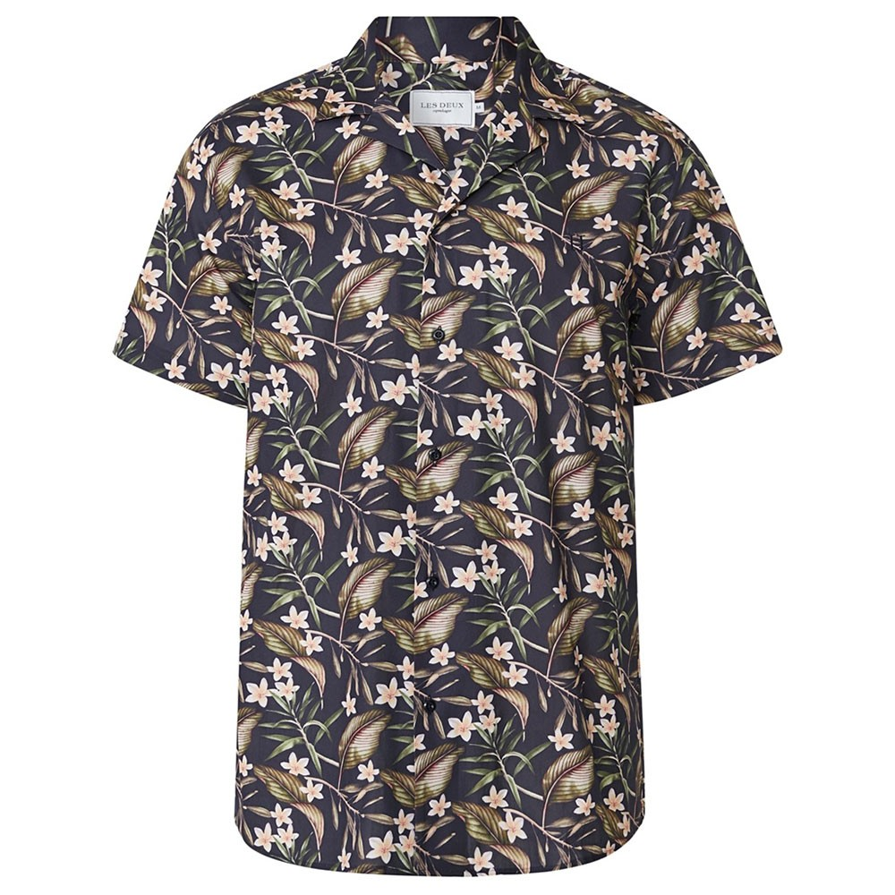 Latif Flower Print SS Shirt main image