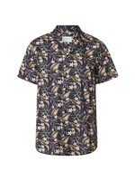 Latif Flower Print SS Shirt