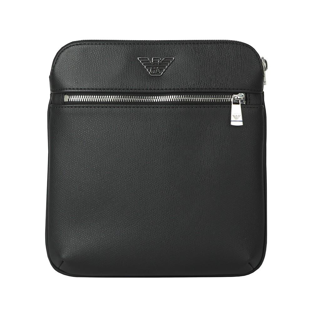 Leather High Logo Messenger Bag main image