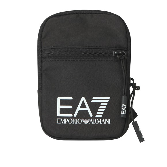 EA7 Emporio Armani Mens Black Small Logo Bag