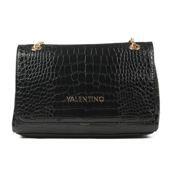 Valentino by Mario Womens Black Grote Satchel