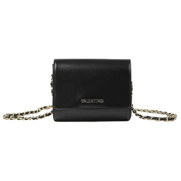 Valentino by Mario Womens Black Alexander Small Satchel