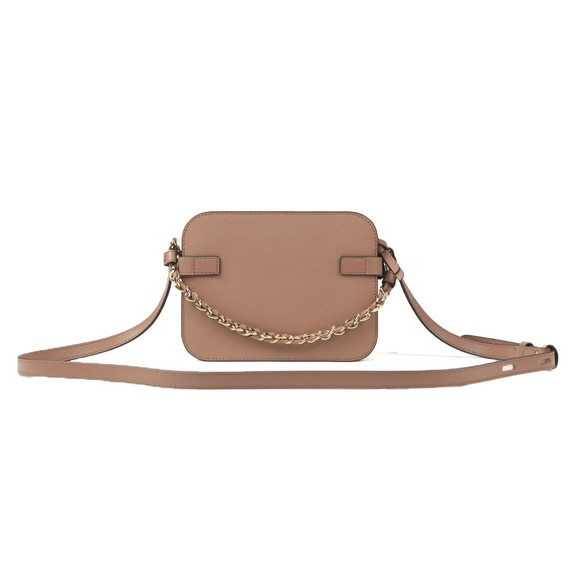 Michael Kors Womens Beige Carmen Camera Crossbody Bag main image