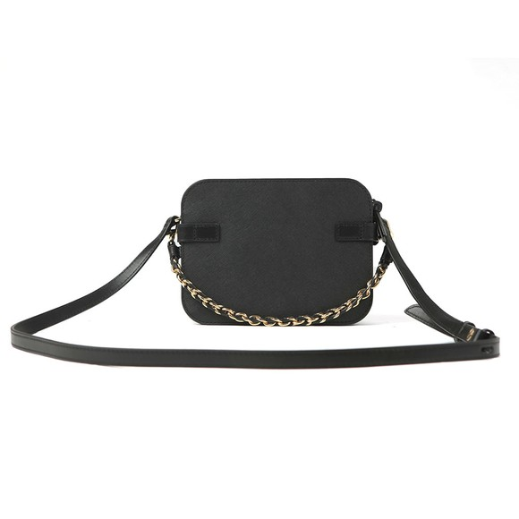 Michael Kors Womens Black Carmen Camera Crossbody Bag