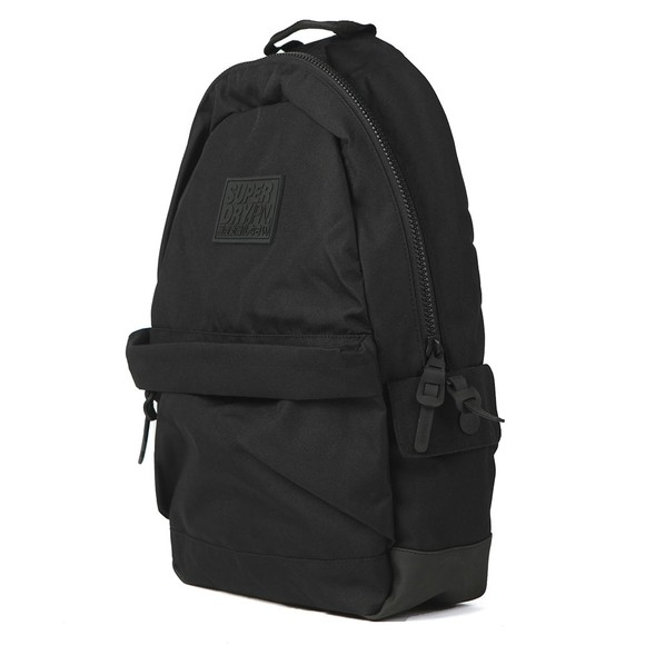 Superdry Mens Black Classic Montana Backpack