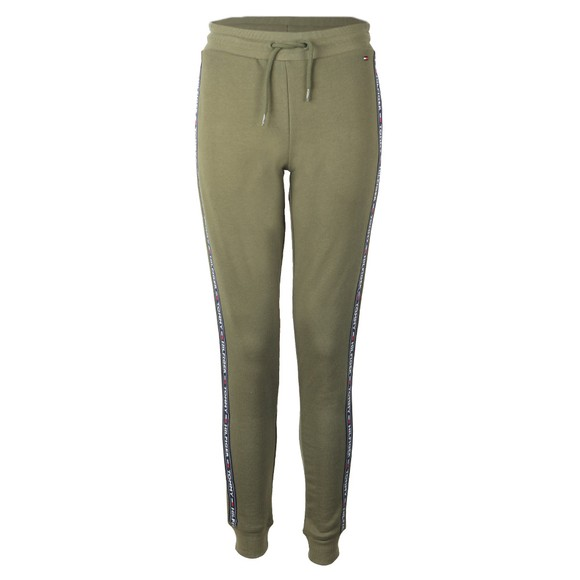 Tommy Hilfiger Womens Green Taped Jogger