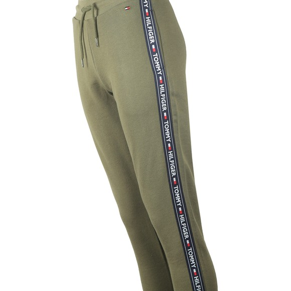 Tommy Hilfiger Womens Green Taped Jogger main image