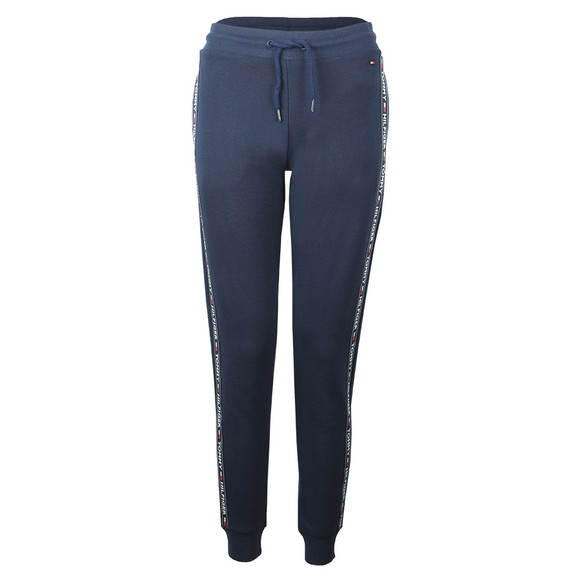 Tommy Hilfiger Womens Blue Taped Jogger