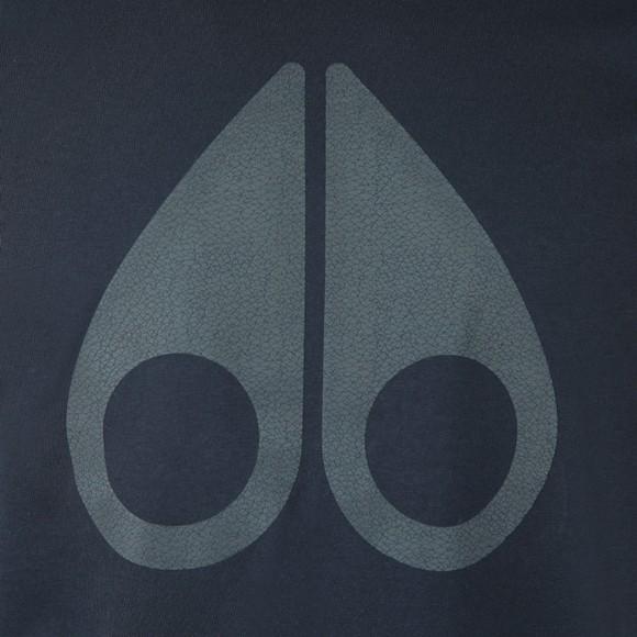 Moose Knuckles Mens Blue La Plante T-Shirt
