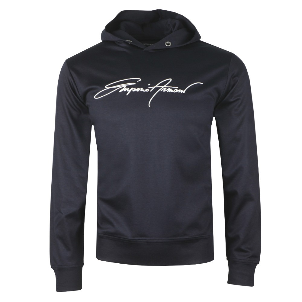 Signature Button Hoody main image