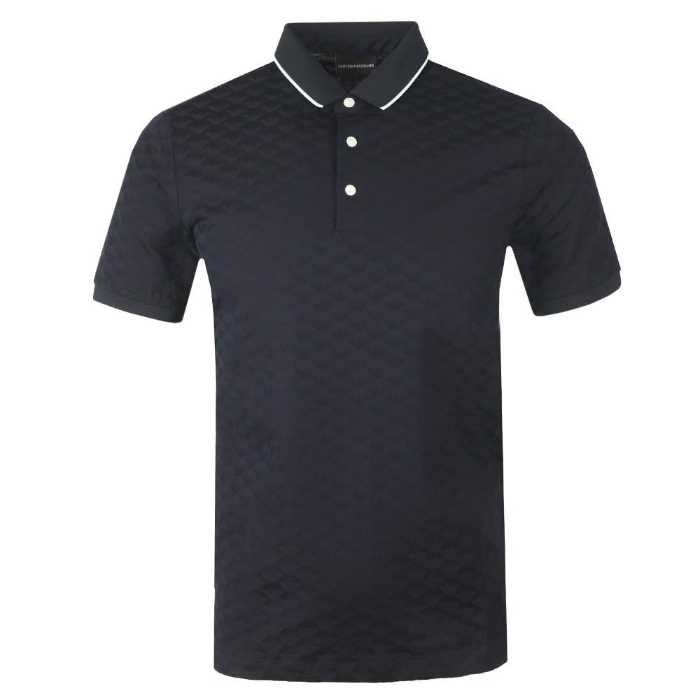 Allover Pattern Polo Shirt main image