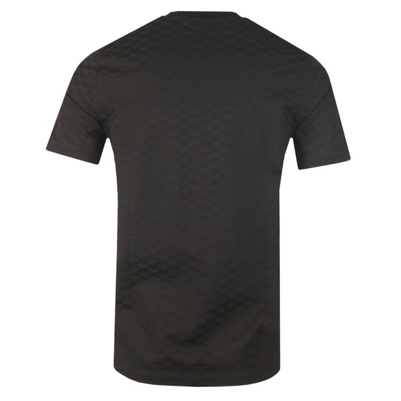 Emporio Armani Mens Black Allover Pattern T Shirt main image