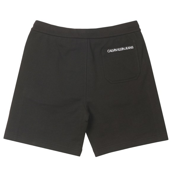 Calvin Klein Jeans Mens Black Side Logo Hawk Short