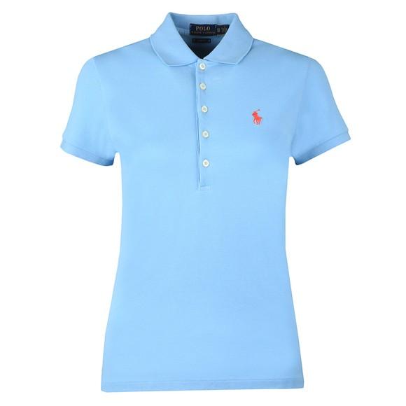 Polo Ralph Lauren Womens Carolina Blue Julie Polo Shirt