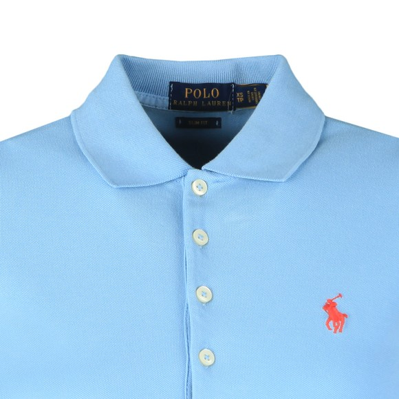 Polo Ralph Lauren Womens Carolina Blue Julie Polo Shirt