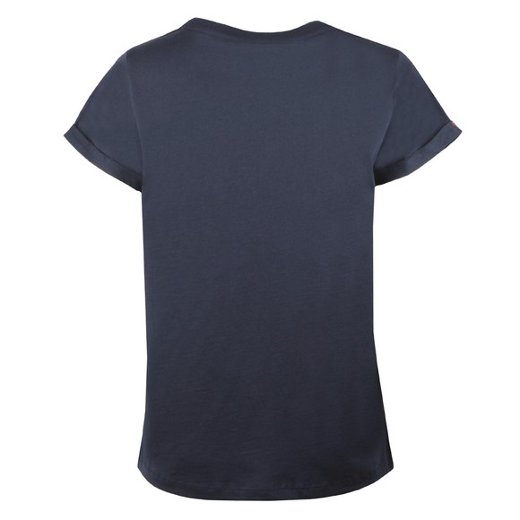 Tommy Hilfiger Womens Blue SS Round Neck T-Shirt main image