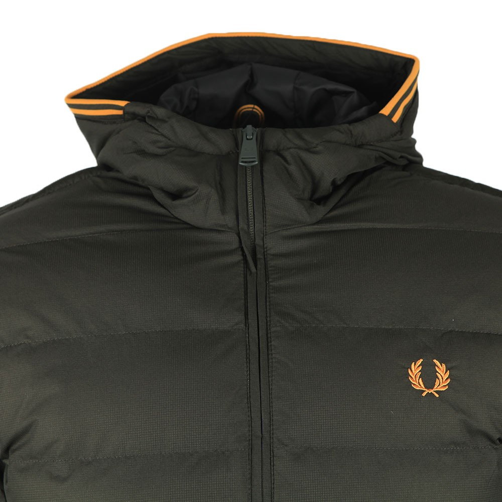 Hooded Insulated Jacket main image