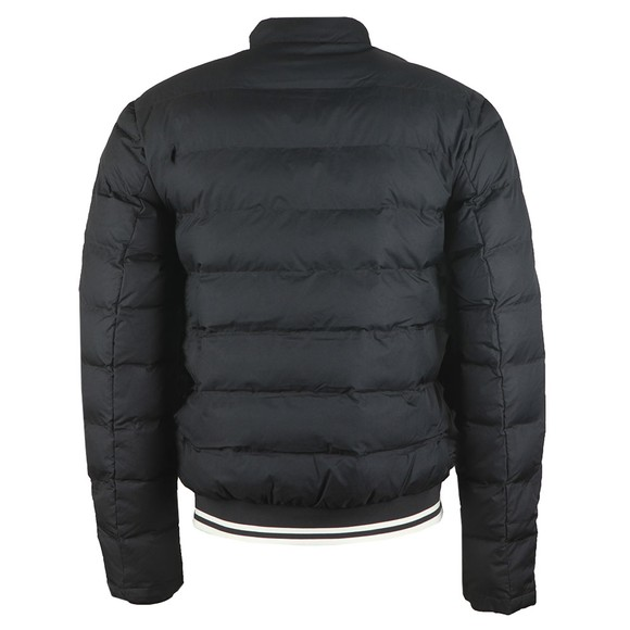 Fred Perry Mens Black Insulated Jacket main image