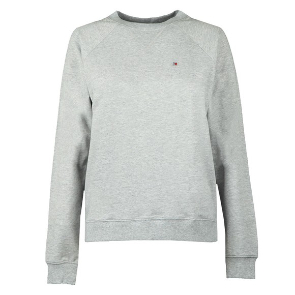 Tommy Hilfiger Womens Grey Crew Neck Sweatshirt