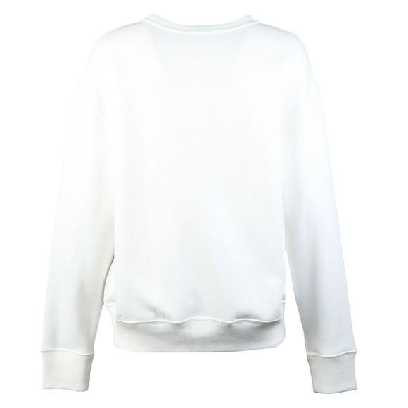 Polo Ralph Lauren Womens White Crew Neck Sweatshirt main image