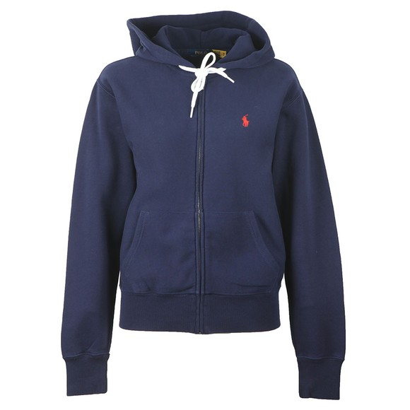 Polo Ralph Lauren Womens Blue Full Zip Hooded Sweatshirt main image