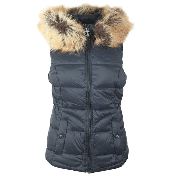 Barbour Lifestyle Womens Blue Dover Gilet
