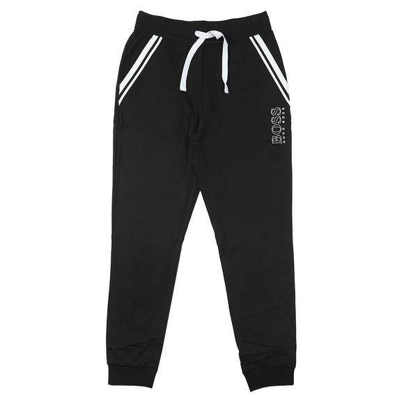 BOSS Bodywear Mens Black Authentic Pocket Stripe Jogger