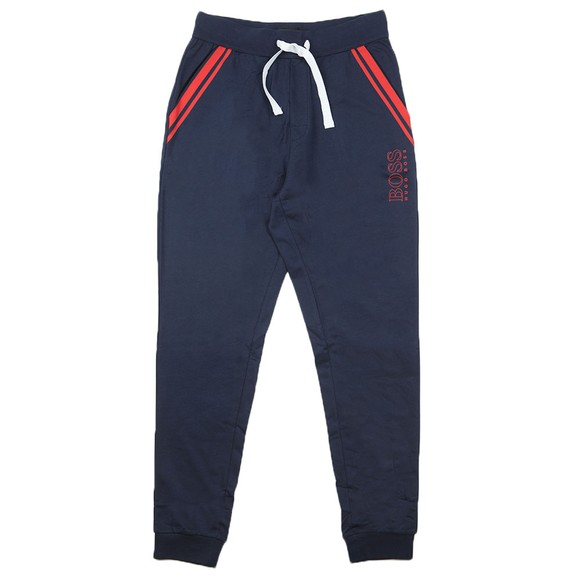 BOSS Bodywear Mens Blue Authentic Pocket Stripe Jogger