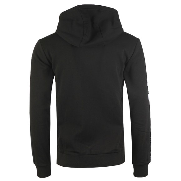 EA7 Emporio Armani Mens Black Full Zip Hooded Sweatshirt main image