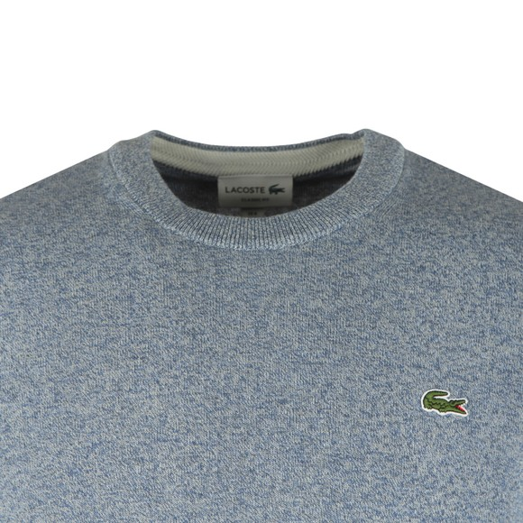 Lacoste Mens Blue AH1964 Crew Neck Jumper