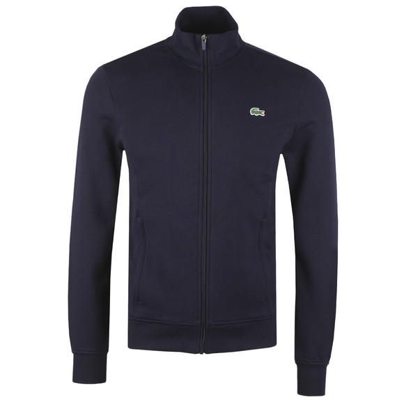 Lacoste Mens Blue SH1559 Full Zip Sweatshirt