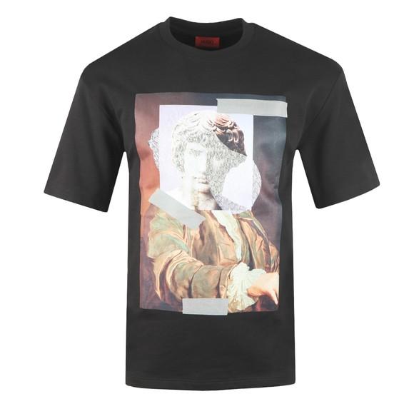 HUGO Mens Black Danberra Sweatshirt