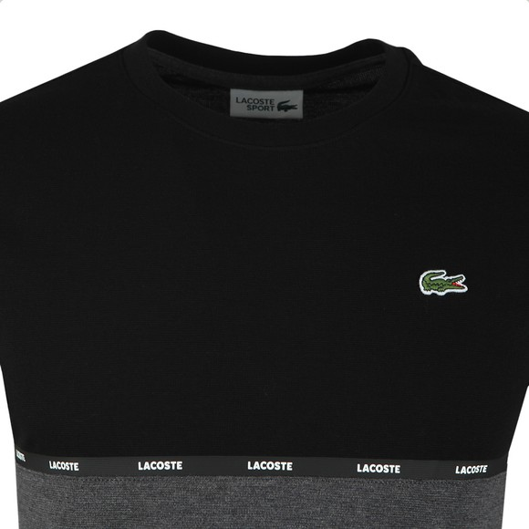 Lacoste Sport Mens Black TH6257 T-Shirt