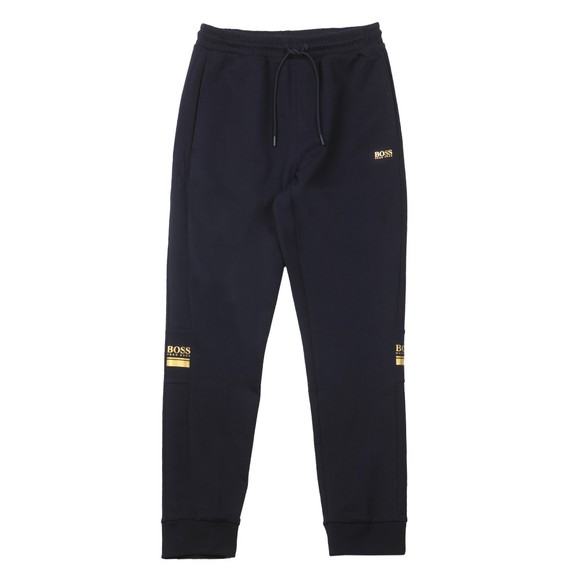 BOSS Mens Blue Athleisure Halvo Jogger