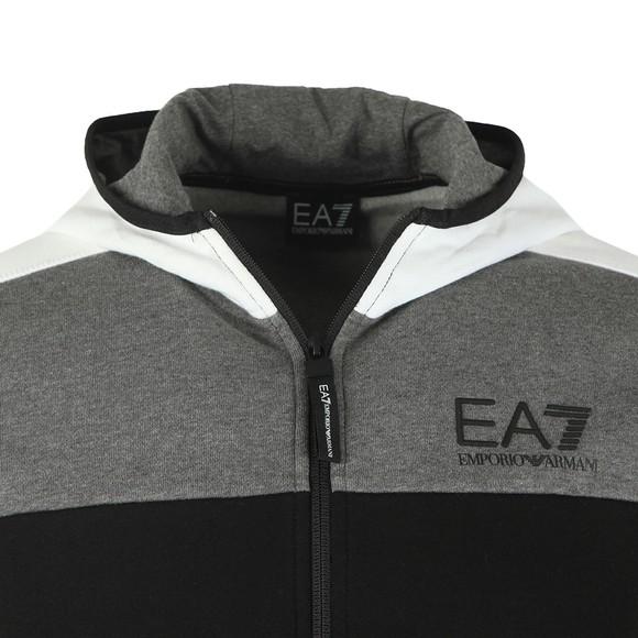 EA7 Emporio Armani Mens Black Block Tracksuit main image