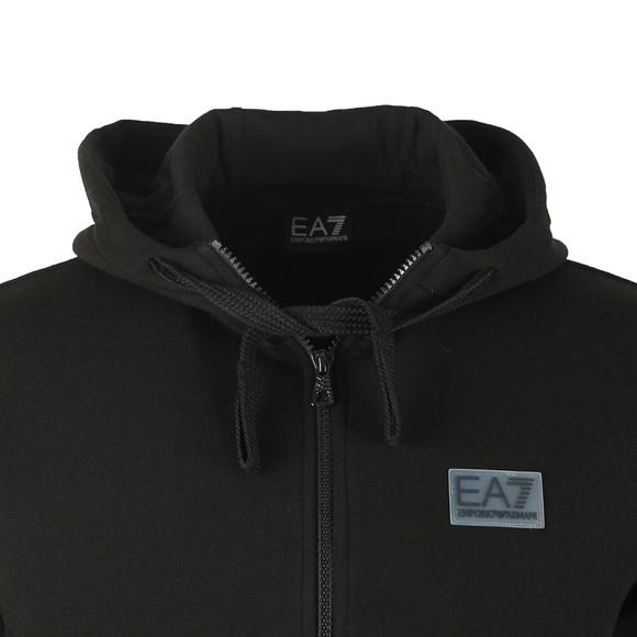 EA7 Emporio Armani Mens Black Small Logo Tracksuit main image