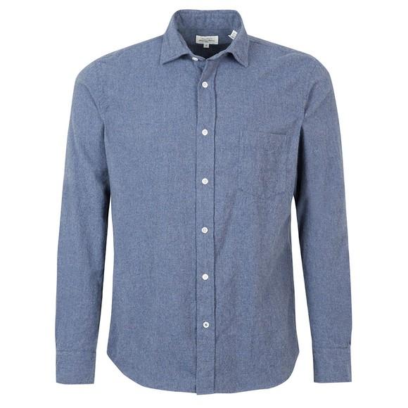 Hartford Mens Blue Paul Shirt