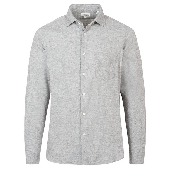 Hartford Mens Grey Penn LS Shirt main image