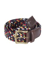 Tartan Coloured Stretch Belt Gift Box