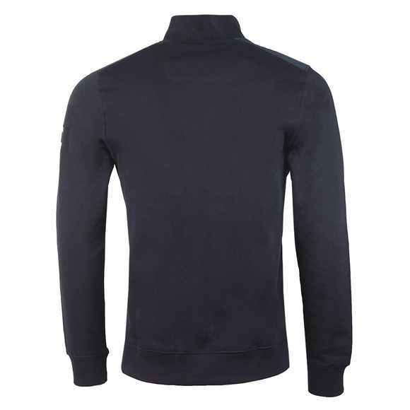 Weekend Offender Mens Blue Robore Half Zip Sweatshirt main image