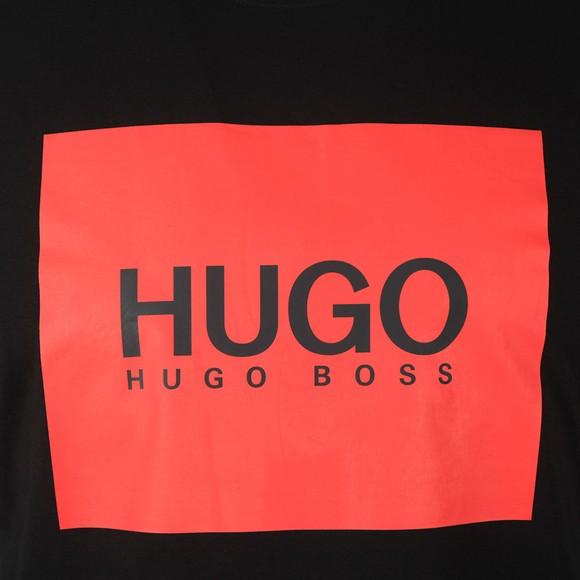 HUGO Mens Black Dolive U204 T Shirt
