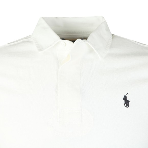 Polo Ralph Lauren Mens White Classic Rugby Shirt