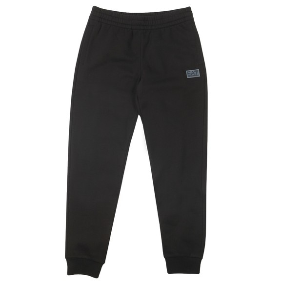 EA7 Emporio Armani Mens Black Badge Logo Jogger
