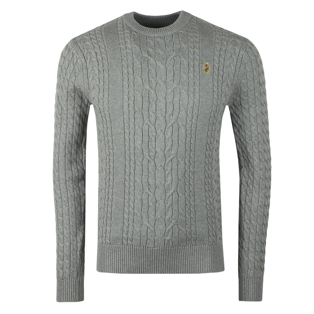 Carter Johnson Cable Knit Jumper main image