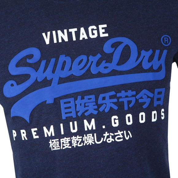 Superdry Mens Blue VL NS T-Shirt