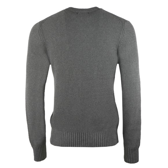 J.Lindeberg Mens Grey Oliver Structure Sweatshirt main image