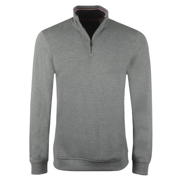 Ted Baker Mens Grey Funnel Neck Layering Sweatshirt