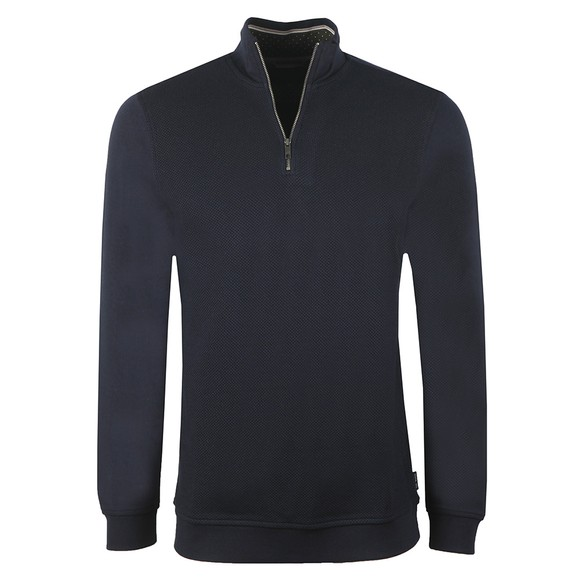 Ted Baker Mens Blue Funnel Neck Layering Sweatshirt