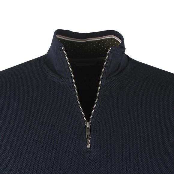 Ted Baker Mens Blue Funnel Neck Layering Sweatshirt main image