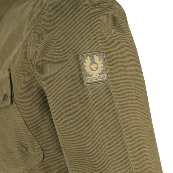 Belstaff Mens Green Pitch Corduroy Shirt